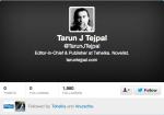 Tarun Tejpal Twitter